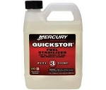 Mercury Quickstor Fuel Stabilizer 32 oz | 8M0058692